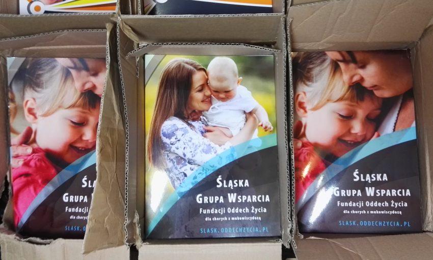 Śląska Grupa Wsparcia - materiały z drukarni